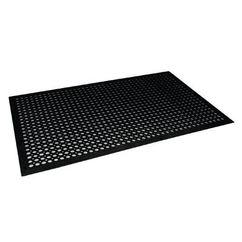Antivermoeidheidsmat zwart - 150x90cm