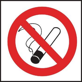 Sticker niet roken - wanden