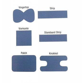 Pleisterset - blauw - 100 stuks