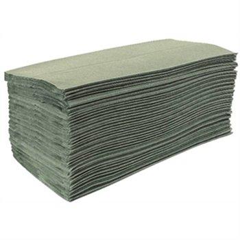Handdoeken - Z gevouwen - groen - 15 pakken