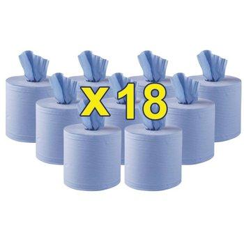 Navulling centerfeed dispenser large - blauw - 18 rollen