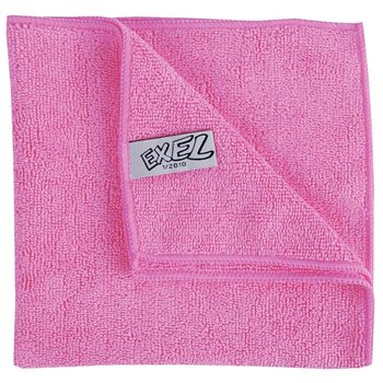 Microvezel doek - roze - 40x40cm - 5x