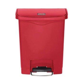 Pedaalemmer smal horizontaal - 30L - rood
