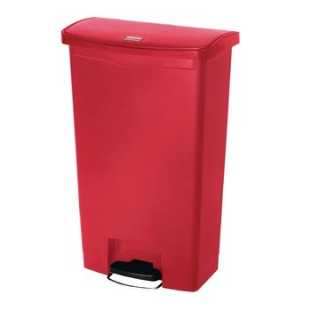 Pedaalemmer smal horizontaal - 68L - rood
