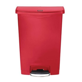 Pedaalemmer smal horizontaal - 90L - rood