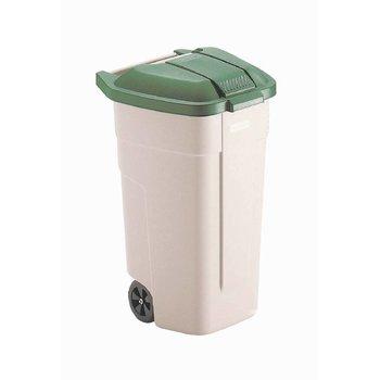 Afvalcontainer Big Wheel - 100L - groen