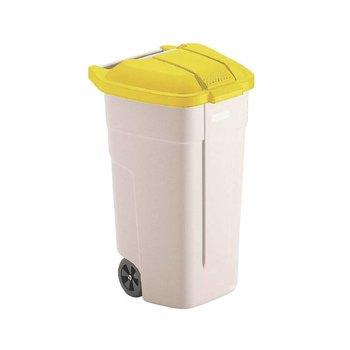Afvalcontainer Big Wheel - 100L - geel