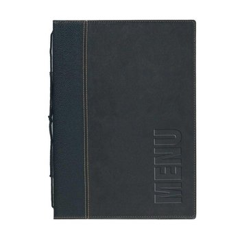 Horeca menukaart - wasbaar - zwart - A5