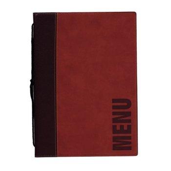 Horeca menukaart - wasbaar - rood - A4