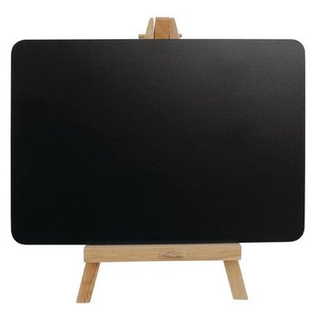 Krijtbord presentatie houder - 21x12cm