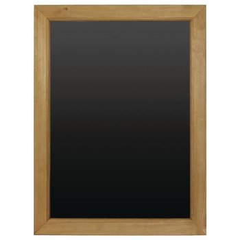 Krijtbord houten lijst - 45x60cm