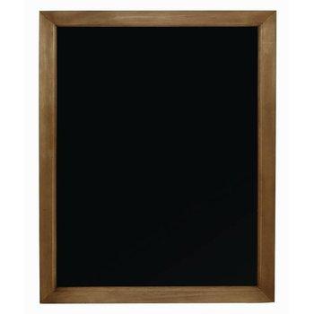 Krijtbord houten lijst - 60x80cm