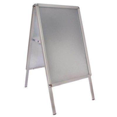 Aluminium stoepbord