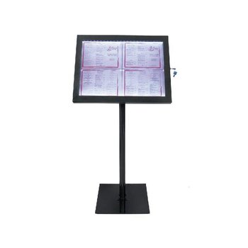 LED menu display
