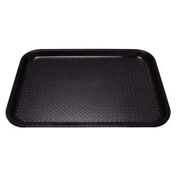 Fastfood dienblad - 34,5x26,5cm - zwart