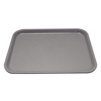 Fastfood dienblad - 34,5x26,5cm - grijs