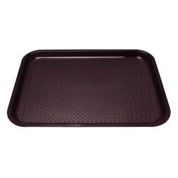 Fastfood dienblad - 34,5x26,5cm - bruin