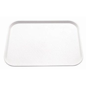 Fastfood dienblad - 41,5x30,5cm - wit