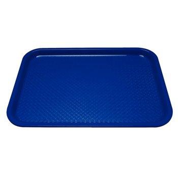 Fastfood dienblad - 45x35cm - blauw