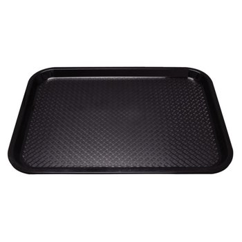 Fastfood dienblad - 45x35cm - zwart