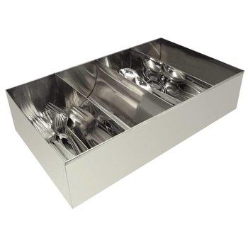 Bestekhouder roestvrijstaal - 41,5x25,5cm