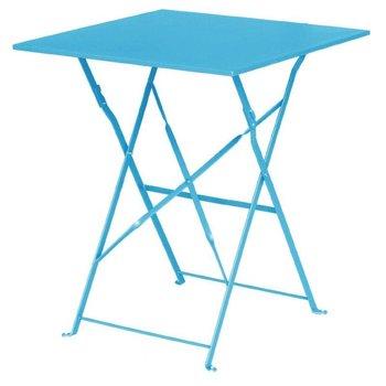 Tafel Lucas - vierkant - turquoise