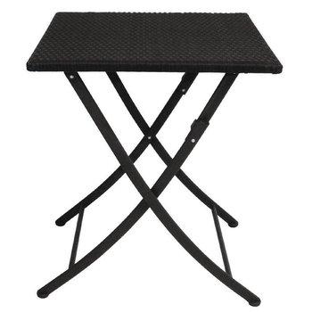 Tafel Max - vierkant - zwart