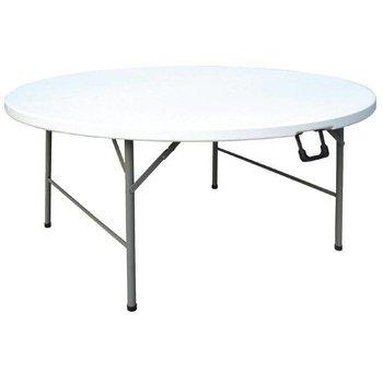 Inklapbare tafel - rond - Ø 153cm