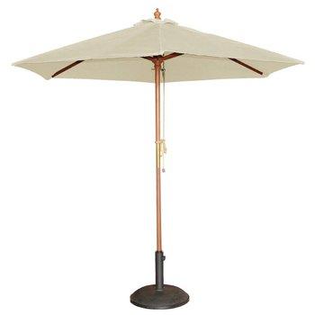Parasol - rond 250cm - creme