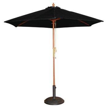 Parasol - rond 300cm - zwart