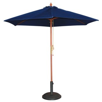 Parasol - rond 250cm - donkerblauw
