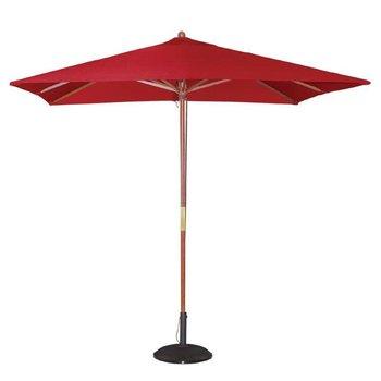 Parasol - vierkant 250cm - rood