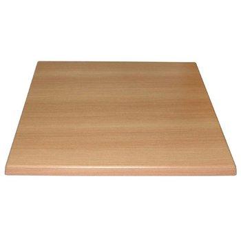 Tafelblad Rutger - vierkant 70cm - beuken
