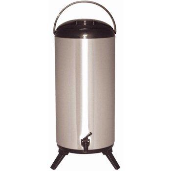 Geïsoleerde dubbelwandige drankdispenser - 14 liter