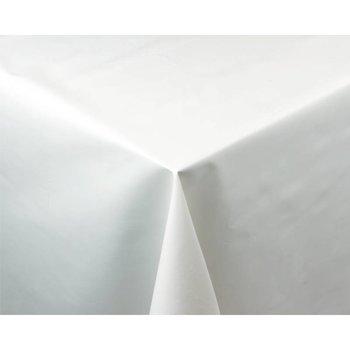 Tafellaken - PVC effen wit - 135x225cm