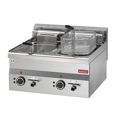 Friteuse Modular 600 - elektrisch 2x 10 liter