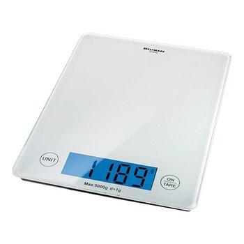 Elektrische weegschaal - glazen plateau - 1 gram - 5kg