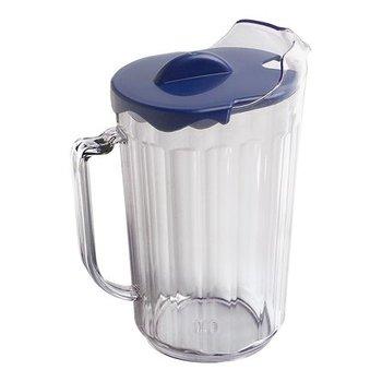 Schenkkan transparant polycarbonaat - met deksel - 1,8L