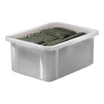 Stapelbak kunststof wit - 12 liter