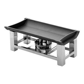Snack serveer warmer - aluminium plaat - 1 brander