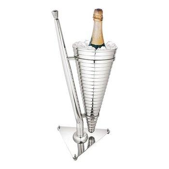 Wijnkoeler hoogglans RVS - enkel - (H)55cm