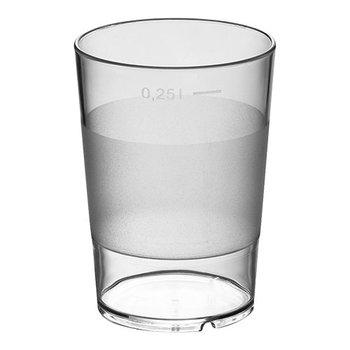 Waterglas stapelbaar polycarbonaat - 28cl