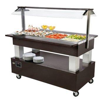 Gekoelde buffet unit - 4x 1/1GN - type B