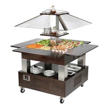 Gekoelde buffet unit - 4x 1/1GN - type A