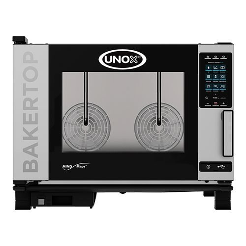Unox Bake-off oven - XEBC-04EU-E1R- BakerTop MindMaps PLUS - 4x 60x40cm - Extra power
