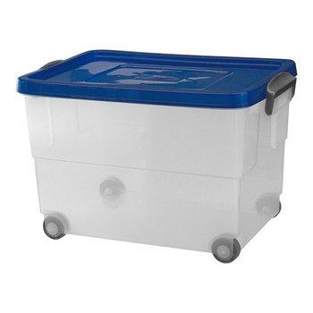 Voedselbak transparant - 60 liter