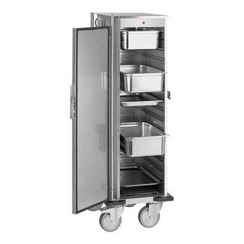 Verwarmde voedseltransportwagen 16x 1/1GN