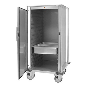 Verwarmde voedseltransportwagen 16x 2/1GN