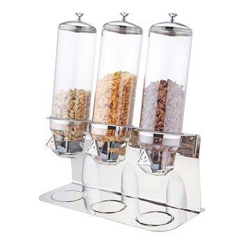 Buffet dispenser - cornflakes - 3x 4 liter