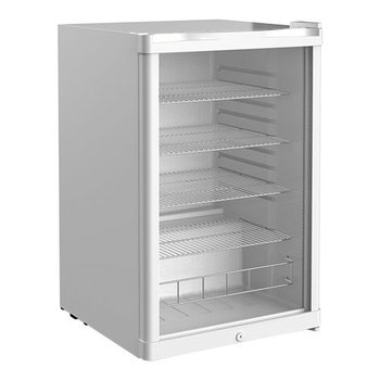 Koelkast tafelmodel | glazen deur | Wit | 130L | (H)84x(B)54x(D)55